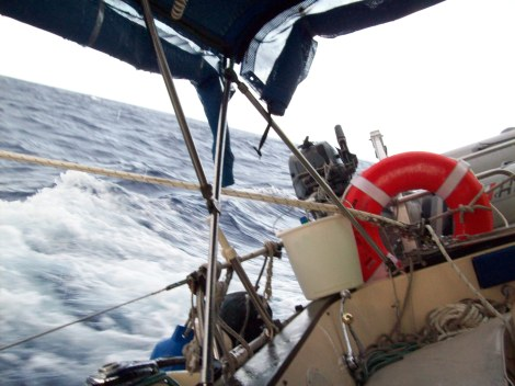 Fast sailing in the trade winds