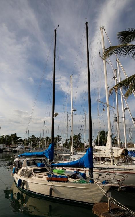 Stars End 2 moored at Vuda Marina June 2016