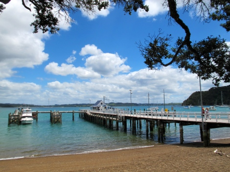 The jetty at Russell