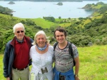 Nadi, Dave & Danny with Urapukapuka Bay & SE2 in background