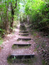 Stairway to ......another hill to climb!