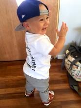 'Look at me Mum, I'm a hiphop dude!'