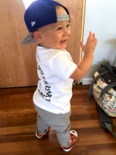 'Look at me Mum, I'm a hiphop dude!'