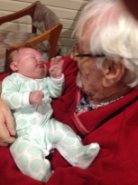 Ggp (Great Grand pa) with Wilder