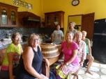 Dilla's cooking class at Cilu Bintang Estate