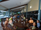 farewell drinks in PNG