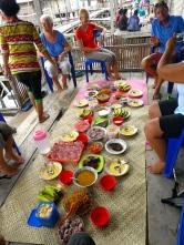 Our feast at Sampela