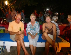 Bob & Bev from 'Icaros' with Margret