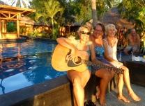 Sunset serenade with Margie & Joy