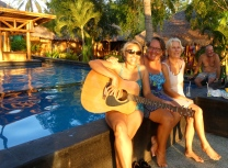 Sunset serenade with Margie & Joy