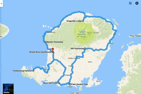 2- Lombok car trip