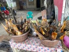 Mmnnn- BBQ fish sticks!