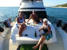 Weekend getaway with Lainy & Skipper on Deep Blue