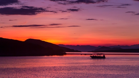 Sunrise at Sebayor Besar