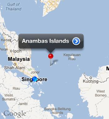 anambas map