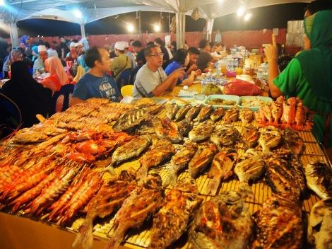 Filipino night market