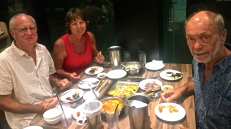 Korean meal with Anita & Pierre
