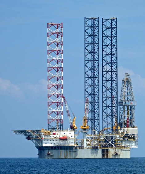 Labuan Oil rig 2