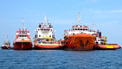 Labuan rescue boats